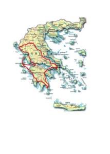 Grecia percorso