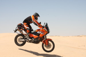 Ciccions nel deserto ktm 950