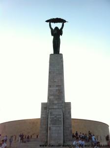 Statua della libertà Budapest