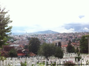 what to see in sarajevo cemetery