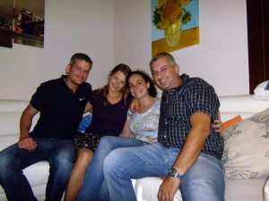 couchsurfing with due cuori e una ciccions