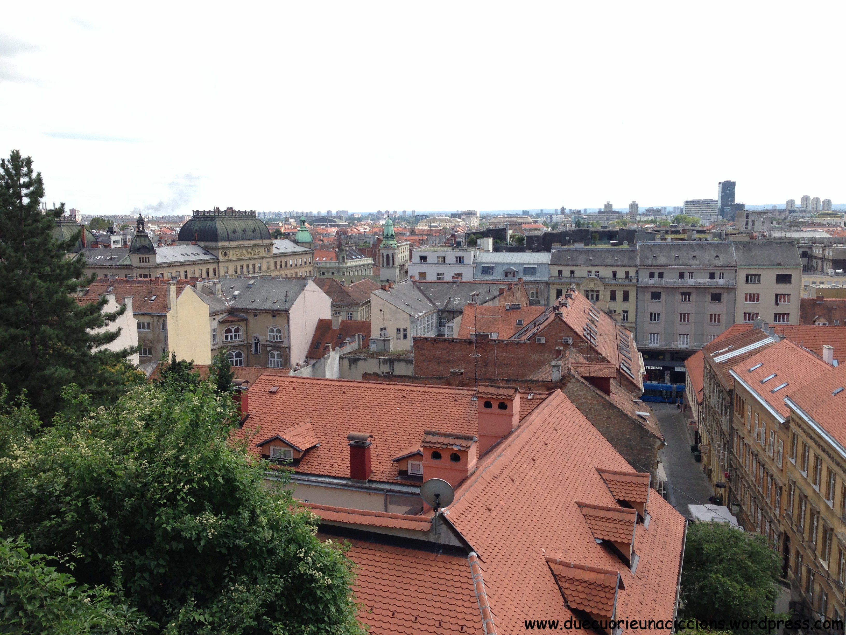 zagreb's roofs