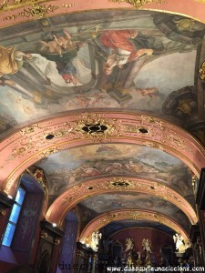 sala degli specchi praga Klementinum