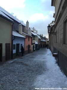 vicolo dell'oro praga - golden street prague praha