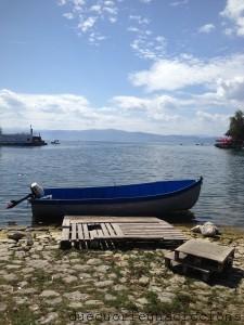 lake lago ohrid - lago di ocrida
