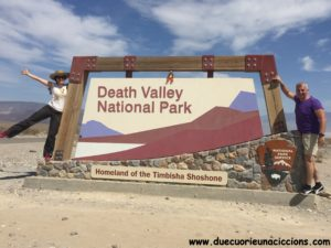 itinerario itinerary usa on the road death valley