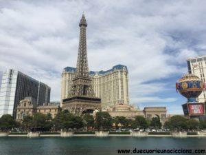 itinerario usa on the road las vegas