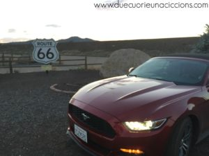 mustang route 66