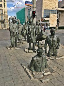 statue bronzo Breslavia