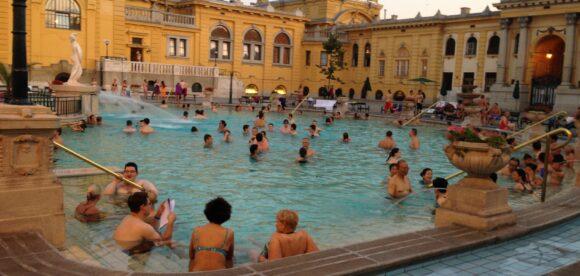 Szechenyi's baths